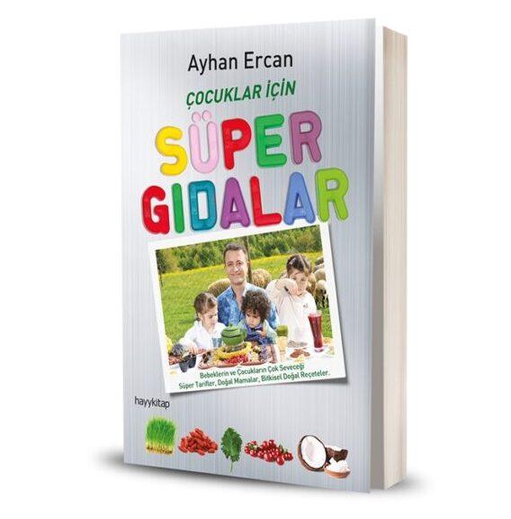 çocuklar için süper gıdalar kitap